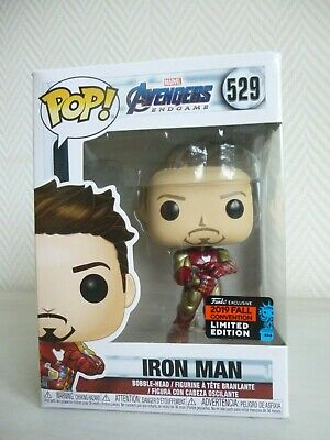 Funko Pop - MARVEL - Avengers Endgame - Iron Man with gauntlet - NYCC 2019