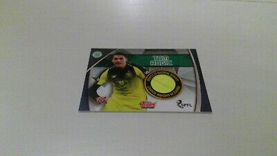 Topps Match Attax Scottish Spfl 2019/20 Rare Celtic Shirt Card Match Worn