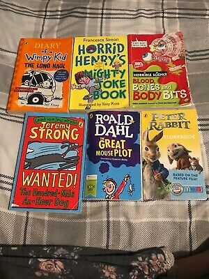 Childrens Chapter Book Bundle Horrid Henry Roald Dahl