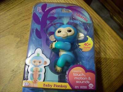 Fingerlings Charlie the Baby Monkey New-in-Box Rare 2017 WowWee