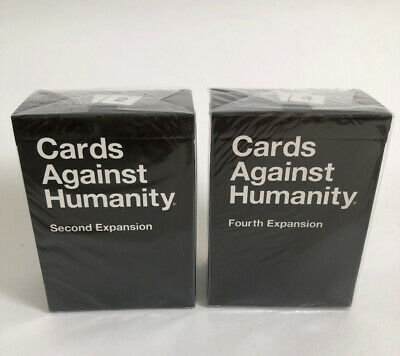 Cards Against Humanity Expansions 2 & 4