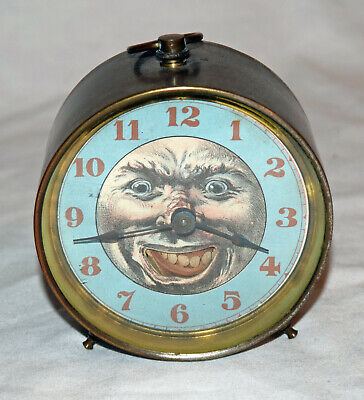 Early Animated Clock with Moving Mouth - WORLDWIDE SHIPPING