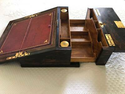 Antique George Betjemann Writing Box - circa 1860 - excellent cond!