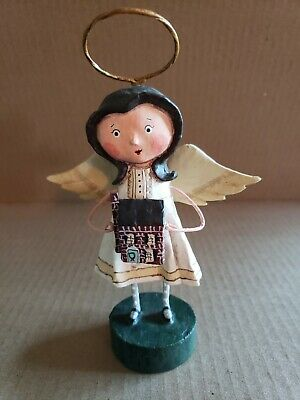 Lori Mitchell Angel of the Home  Christmas Figure Preowned