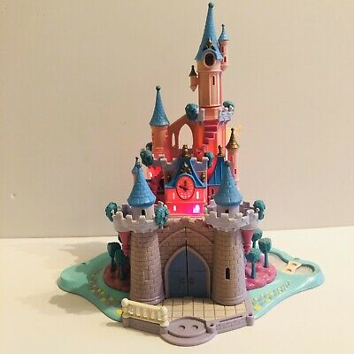 Disney Polly Pocket Princess Cinderella Enchanted Light Up Castle Only 1995