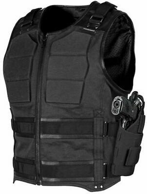 Speed & Strength True Grit Armored Vest Motorcycle Street Bike