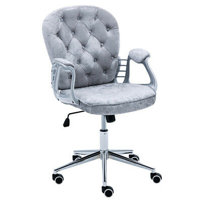 Velvet Executive Office Chair Racing Gaming Chair Swiveling Computer Desk Chairs