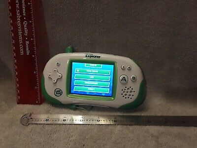 Leapfrog Leapster Explorer Handheld Learning System/Console / TESTED!!!