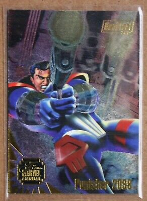 1995 Flair Marvel Annual DuoBlast chase #2 of 3 Punisher/Vendetta, preowned, NMT