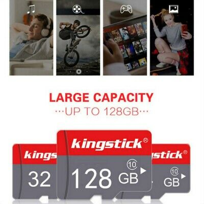 128GB KINGSTICK. TF-Karte High-Speed-Speicher Klasse 10 Für Handy-Tablets Kamera