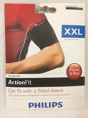 Philips Action Fit High Performance Sport Sleeve Armband Size XXL