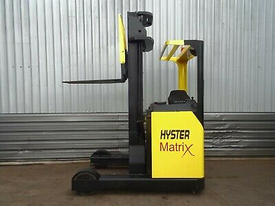 HYSTER R2.0. 6400mm LIFT USED REACH FORKLIFT TRUCK. (#2066)