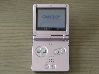 Console Nintendo Gameboy Advance Sp Rose Pink Avec Son Chargeur