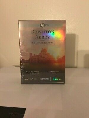 Downton Abbey - The Complete Collection (DVD Set, 2016), New (Free Shipping)