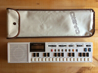 VINTAGE CASIO VL TONE VL-1 MINI POLYPHONIC KEYBOARD 1981 as Roland Korg Moog