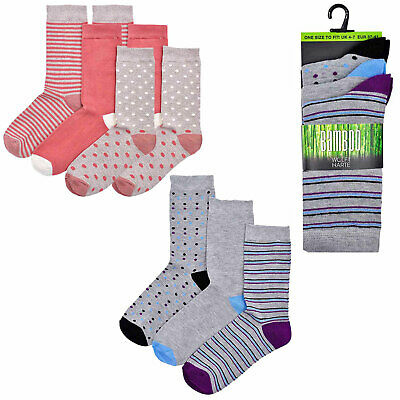 Wolfe & Harte Women's Bamboo Soft Anti-Allergenic And Anti-Bacterial Socks
