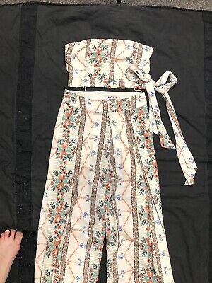 Ache Size 8 Pants And Top Co-ord Set Size 8