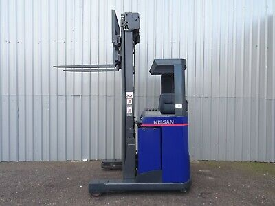 Nissan Uns16. Used Reach Forklift Truck. (#2308)