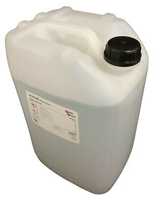 Acetone 99.8% Purity - False Nail Remover - Solvent Cleaner - Degreaser - 20L