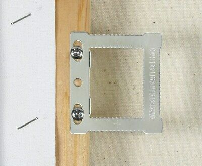 10 x CWH1 SQUARE HANGERS STRETCHED CANVAS HOLLOW BACK PICTURE FRAMES + SCREWS