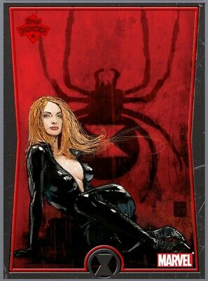 DIGITAL 2019 Topps Marvel Collect Showcase Black Widow #1(of 10) cc2000