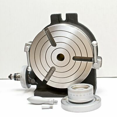 """VERTEX HV-8 8"""" Horizontal / Vertical Rotary Table with Face Plate"""