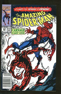AMAZING SPIDER-MAN #361 VERY FINE 8.0 1st CARNAGE 1992 MARVEL COMICS