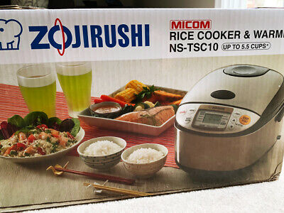 NEW Zojirushi Rice Cooker Zojirushi Rice Cooker NS-TSC10