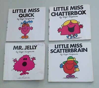 Mr Men books bundle of four