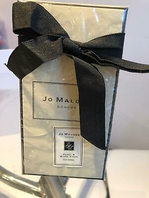 Jo Malone Peony & Blush suede 100ml cologne brand new unopened in box