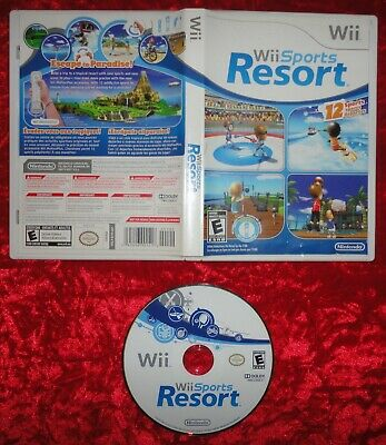 Wii SPORTS RESORT (2009) for NINTENDO Wii - Case & Disc