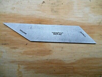 """Lufkin 4"""" Bevel Blade For No. 26 Double Square"""