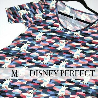 NWT LuLaRoe Perfect Tee (Medium) Disney FROZEN Olaf - NEW with Tags!