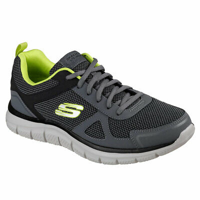 SKECHERS UOMO 52630CCLM Grigio Sneakers AutunnoInverno