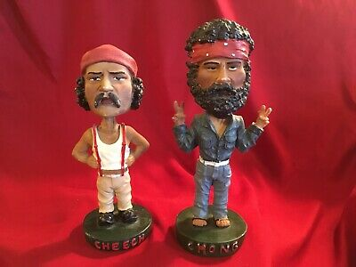 Lot of Cheech and Chong Up in Smoke Bobbleheads