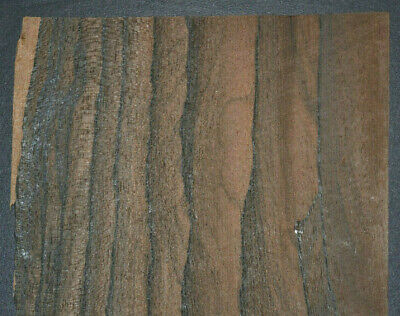 Ziricote Raw Wood Veneer Sheets 5 x 46 inches 1/42nd                    G7633-42