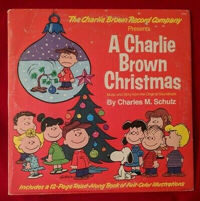 A CHARLIE BROWN CHRISTMAS Vinyl LP Record Album Classic w/ BOOKLET 1977