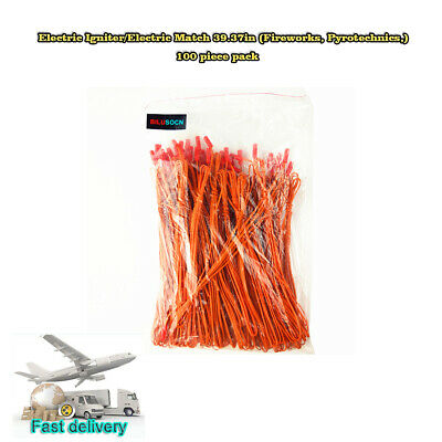 USA Free Ship 100 piece pack 39.37in Fireworks Wire For fireworks firing system