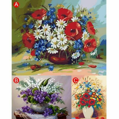 Frameless Paint by Numbers Kits for Adults Kids Seniors Junior Beginner  New