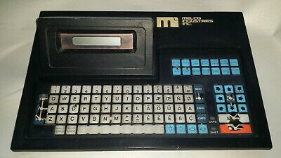 Melco Superstar Part Board Keypad from Single Head Six Needle Embroidery Machine