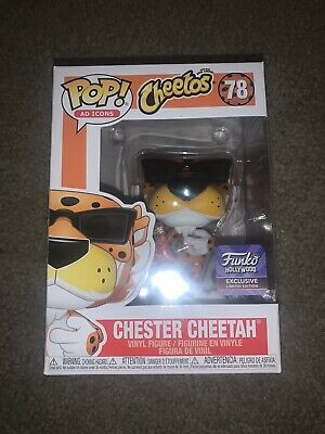Funko Pop Ad Icons Chester Cheetah w/ Cheetos Bag Hollywood HQ Exclusive In-hand