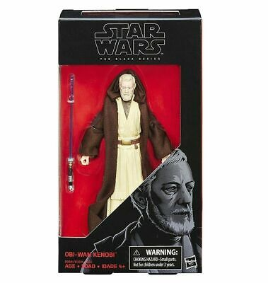 "Star Wars Black Series 6"" Action Figure ""A New Hope"" - Obi Wan Kenobi #32!"