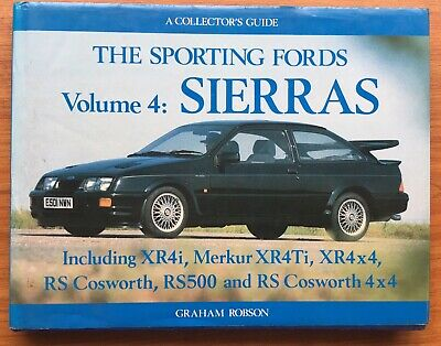Sporting Fords Vol. 4 : Sierras Robson, Graham Rs 500 Cosworth Brochure Manual