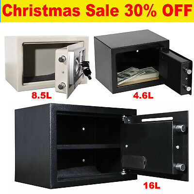 Large Electronic Password Security Safe Money Cash Deposit Box Office Home Safe