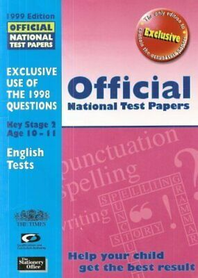 Official National Test Papers 1999: Key Stage 2, Qualifications and Curriculum A