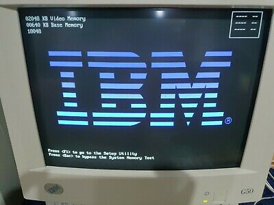 Used Ibm G50 Crt Monitor, very good condition