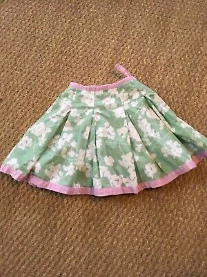 Joules Girls Skirt, Age 2-3 Years, Green Floral