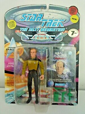 "Star Trek Tng Lieutenant Barclay 5"" Figure With Accessories & Stand"
