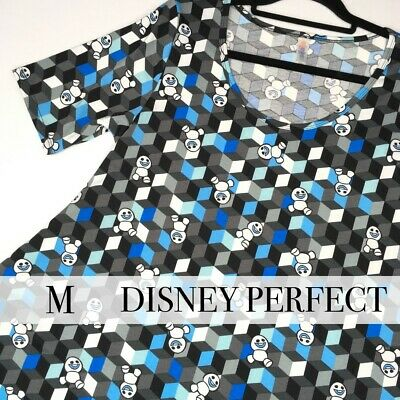 "NWT LuLaRoe Perfect Tee Disney FROZEN ""Snowgies"" (Size: Medium) - NEW with Tags!"