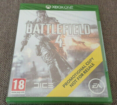 Microsoft Xbox One Game Battlefield 4 Brand New Sealed Promo Version